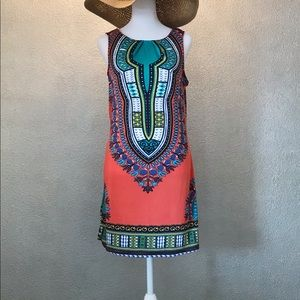 PINKY ABOVE THE KNEE SUMMER DRESS SIZE SMALL